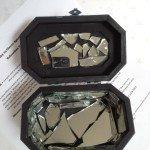 Fractured Mirror Coffin Box