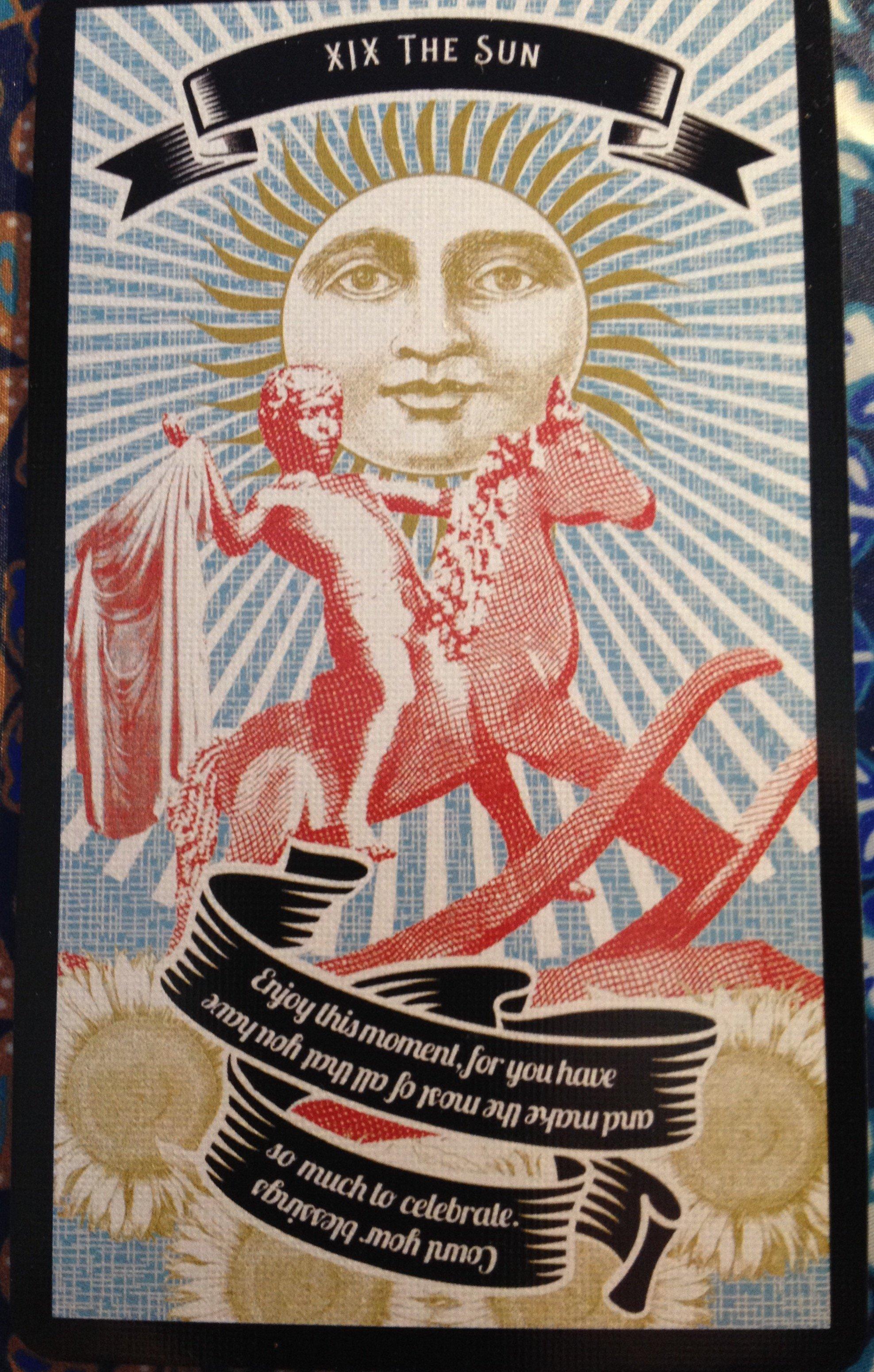 www lucky-13-clover com-madame-clara-2nd-edition-tarot-cards